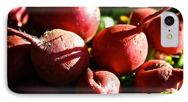 Radishes At Sunrise Phone Case by Susan Herber