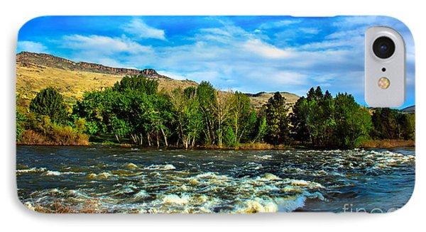 Raging River Phone Case by Robert Bales
