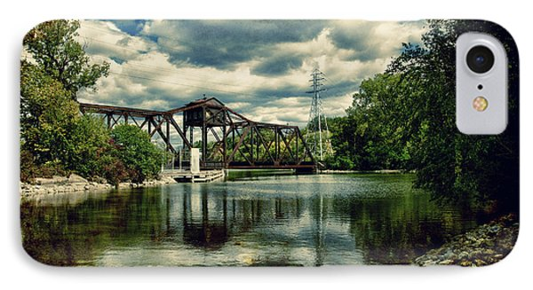 Rail Swing Bridge IPhone Case by Joel Witmeyer