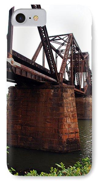 IPhone Case featuring the photograph Railroad Bridge 1 by Kay Lovingood