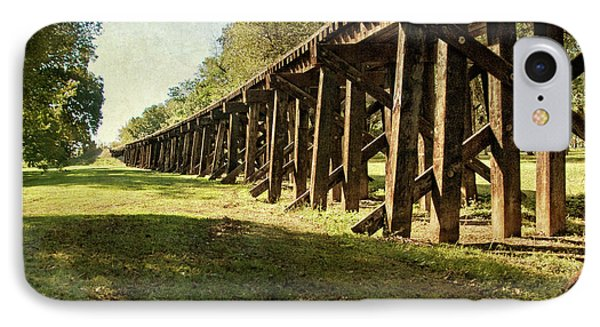 Railroad Bridge Phone Case by Tamyra Ayles