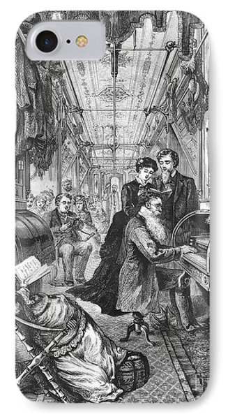 Railroad: Interior, 1876 Phone Case by Granger
