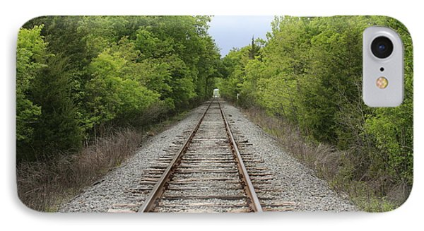 Railroad Tracks IPhone Case by Jerry Bunger