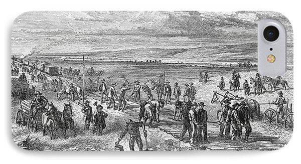 Railroading: U.s.a IPhone Case by Granger