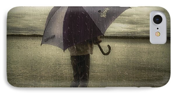 Rain Day 2 Phone Case by Heather  Rivet
