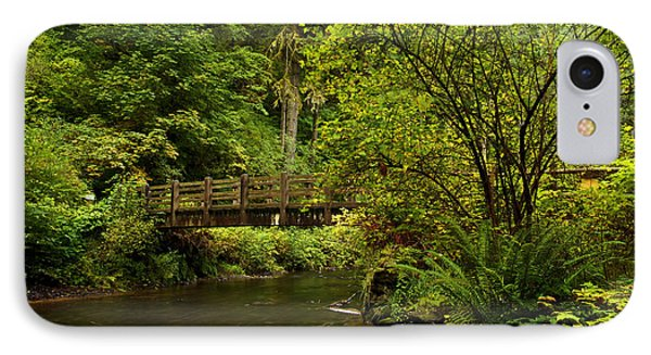 Rain Forest Bridge Phone Case by Adam Jewell