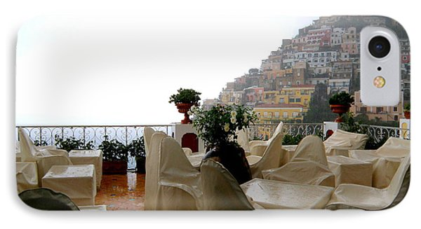 IPhone Case featuring the photograph Rain In Positano  2 by Tanya  Searcy