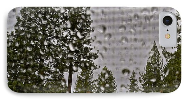 Rain On My Windowpane Phone Case by Kirsten Giving