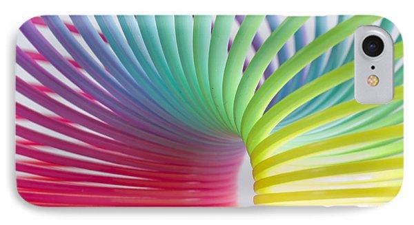 Rainbow 5 Phone Case by Steve Purnell