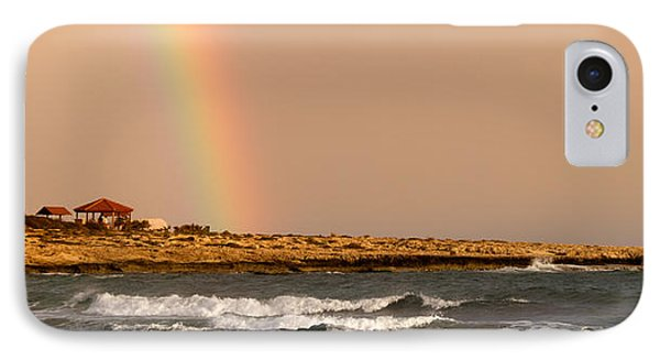 Rainbow By The Sea Phone Case by Stelios Kleanthous