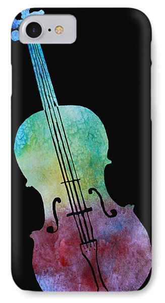 Rainbow Cello Phone Case by Jenny Armitage