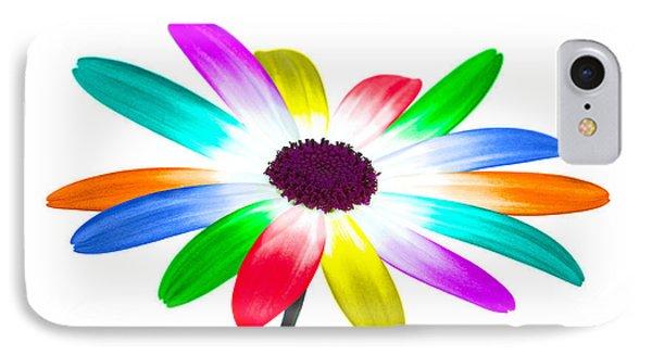 Rainbow Daisy IPhone Case