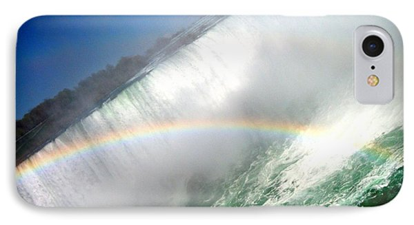 IPhone Case featuring the photograph Rainbow For The Maid Of The Mist by Danielle  Parent
