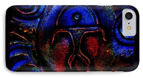 Rainbow Man Phone Case by Susanne Still