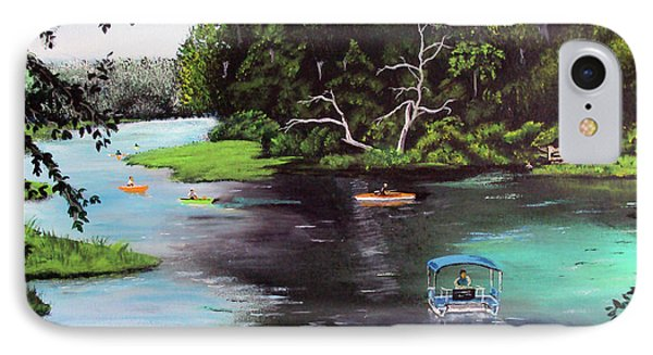 Rainbow Springs In Florida IPhone Case by Luis F Rodriguez