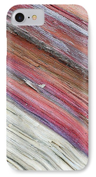 IPhone Case featuring the photograph Rainbow Wood by Lisa Phillips
