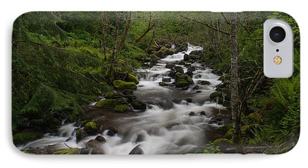 Rainier Forest Flow Phone Case by Mike Reid
