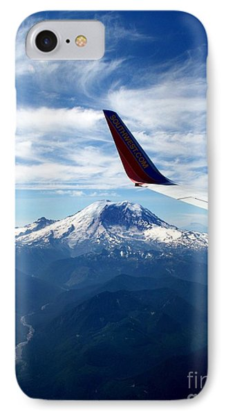 Rainier The Beautiful  4 IPhone Case by Tanya  Searcy