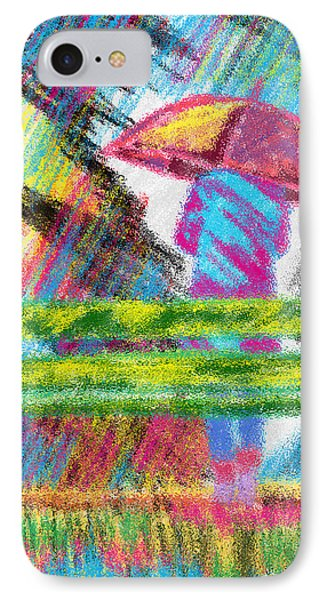 Rainy Day Phone Case by Kenal Louis