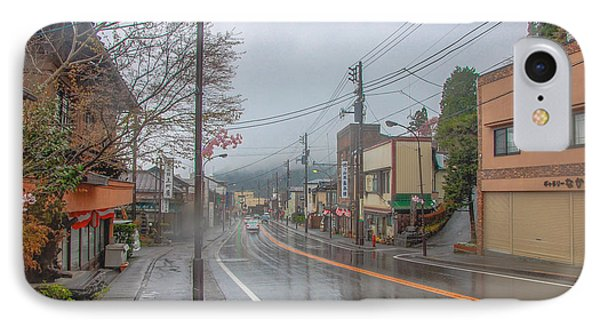 Rainy Day Nikko IPhone Case by Jonah  Anderson