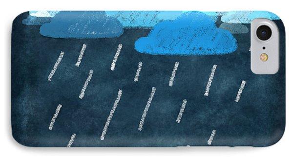 Rainy Day With Umbrella Phone Case by Setsiri Silapasuwanchai