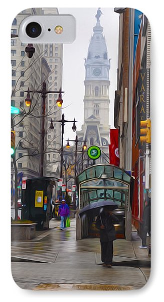 Rainy Days And Sundays IPhone Case by Bill Cannon