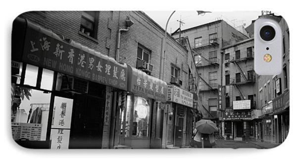 Rainy Evening - Chinatown - New York City IPhone Case by Vivienne Gucwa