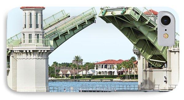 Raised Bridge Phone Case by Kenneth Albin