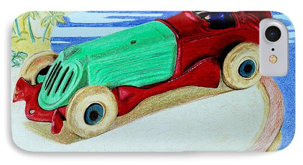 Rallye Automobile Phone Case by Glenda Zuckerman