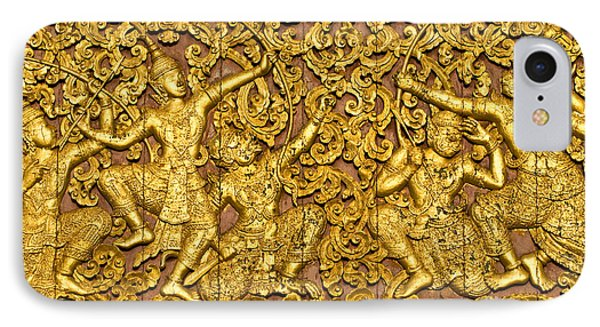 IPhone Case featuring the photograph Ramayana by Luciano Mortula
