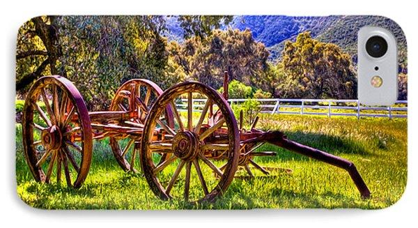 Rancho Oso Wagon Phone Case by Bob and Nadine Johnston
