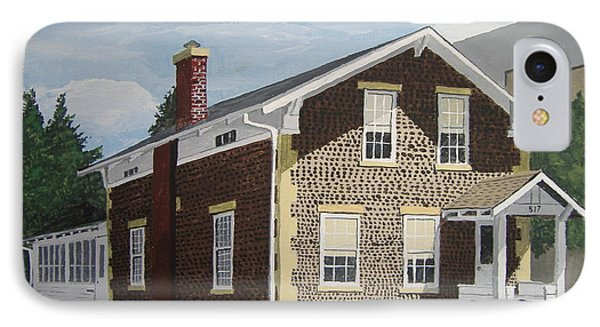 IPhone Case featuring the painting Rasey House by Norm Starks