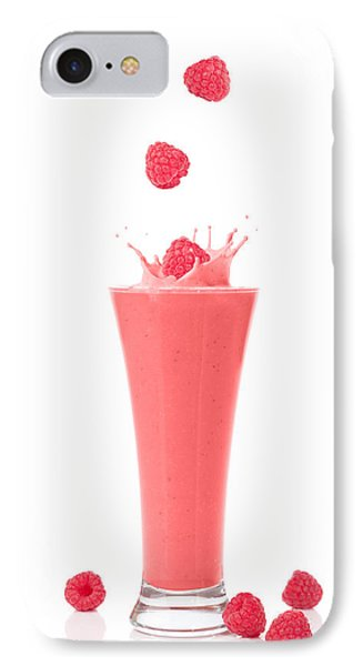 Raspberry And Strawberry Smoothie Phone Case by Amanda Elwell