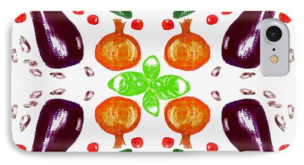 IPhone Case featuring the digital art Ratatouille by Barbara Moignard