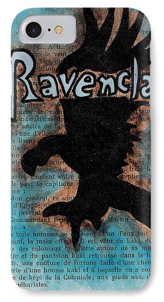 Ravenclaw Eagle Phone Case by Jera Sky
