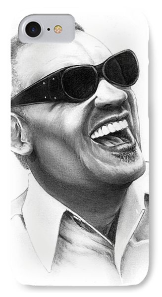 Ray Charles Phone Case by Murphy Elliott