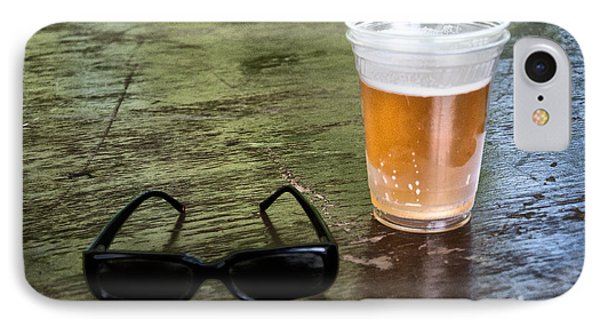 Raybans And A Beer Phone Case by Bill Cannon