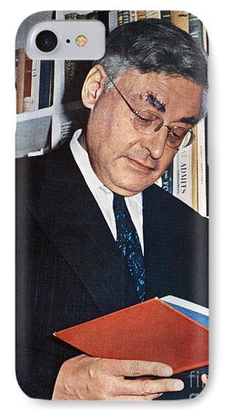 Raymond Queneau (1903-1976) Phone Case by Granger