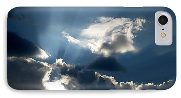 Rays Of Light IPhone Case by Mark Dodd