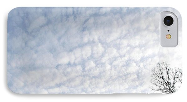 IPhone Case featuring the photograph Reaching The Clouds by Pamela Hyde Wilson