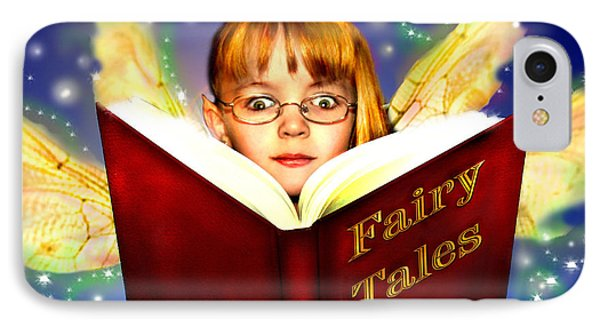 Read More Fairy Tales Phone Case by Nada Meeks