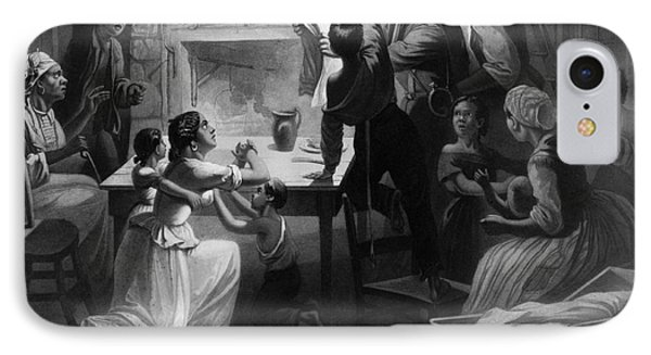 Reading Emancipation Proclamation Phone Case by Photo Researchers