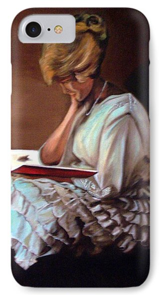Reading Phone Case by Joyce Reid