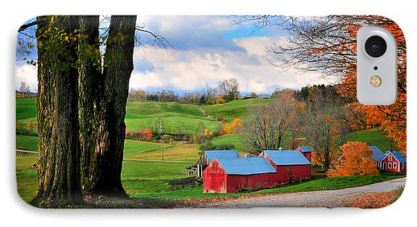Reading Vermont - Jenne Road IPhone Case