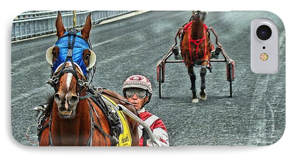 IPhone Case featuring the photograph Ready To Race by Alice Gipson
