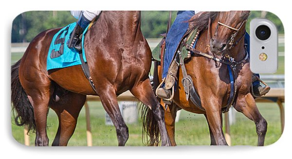Ready To Run IPhone Case by Betsy Knapp