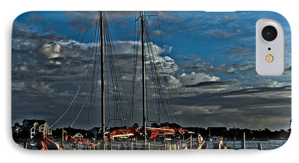 Ready To Sail IPhone Case by Ronald Lutz