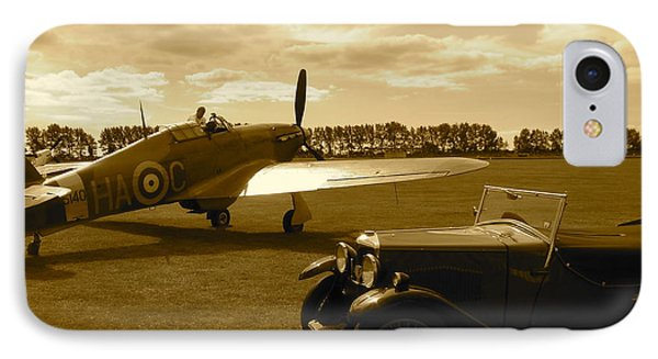 IPhone Case featuring the photograph Ready To Scramble - Spitfire by John Colley