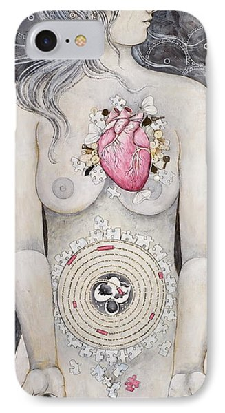 Rebirth Of Venus IPhone Case by Sheri Howe
