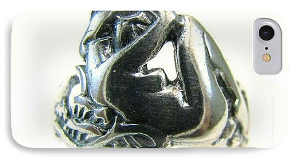 Reclining #nude #sterling #ring - Part IPhone Case by Sacred Urban